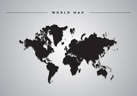 Simple Vector World Map by Clipart World Map Vector Clipart Collection Grey Map Of The