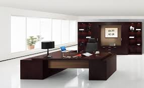 Modern Solid Wood Desk by Office Great Desks With Drawers Furniture Black Wooden Office
