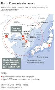 Korea Map Asia by North Korea U0027s Missiles Tests In 2017 A Timeline East Asia News