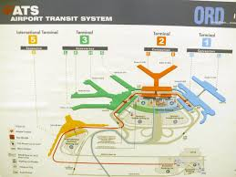 Dallas Terminal Map by Chicago O Hare Terminal Map Map Of O Hare Terminals United