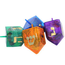 large dreidel large dreidel filled with candy hanukkah menorah dreidels