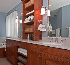 Bathroom Counter Storage Tower Attractive Bathroom Vanity Shelves Double Sink Bathroom Vanity