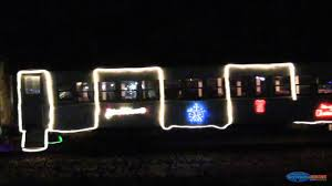 sunol train of lights christmas train of lights leaving niles for sunol sp 5472 and