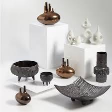 small aorta bronze vase pottery jonathan adler