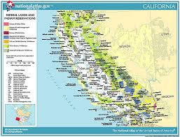 california map pdf free indian and federal lands maps