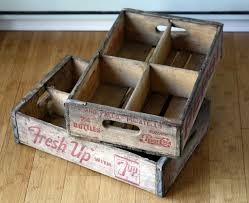 Antique Home Decor Online Running With Scissors Vintage Soda Crates
