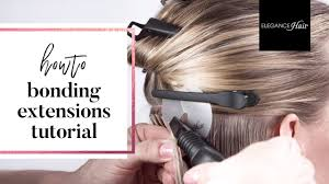 bonding extensions bonding extensions anleitung haarverlängerung elegance hair