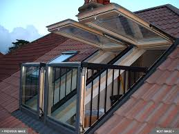 wã schespinne fã r balkon velux cabrio balkonvensters brengen een balkon op zolder www