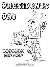 lincoln coloring pages presidents day coloring pages giggletimetoys com