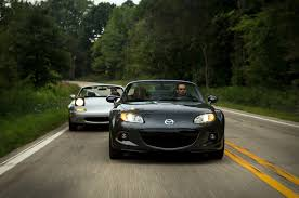 miata then vs now 2014 mazda mx 5 miata vs 1991 mazda mx 5 miata