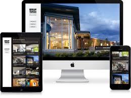 architect website design lupton rausch architecture interior design website design throttle