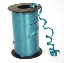 curling ribbon teal curling ribbon 500 yards ribbon and trims craft supplies