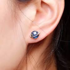stud ear saturn planet stud earrings 5 pieces set just 5 95