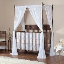 Canopy Bed Curtains Ikea by Crib Canopy For A Baby With A Wedding Veil U2014 Modern Home Interiors