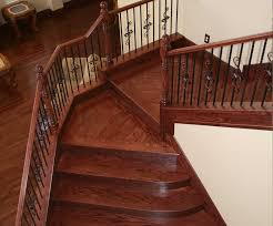 Landing Banister Stair Railing Remodels Custom Woodworking Fireplace Mantels