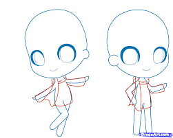 chibi how to draw a chibi person step by step chibis draw chibi
