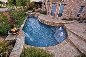 small yard pool simply geo pool in small yard contemporary pool dallas by