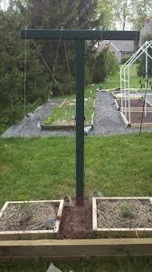 harleysville homestead hop trellis build