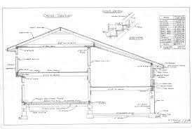 free house plans coming along nicely steep section nz cross fra interesting front to back split house plans gallery best image section rynnkus house section plans house