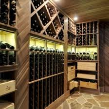 Wine Cellar Shelves - brilliant contemporary wine cellar room design interior with
