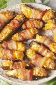 delish bacon wrapped pickles are the thanksgiving