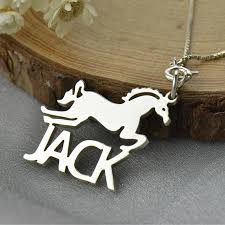 kids name necklaces name necklace for kids silver