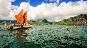 that polynesian style canoe that left hawaii three years ago it u0027s