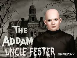 Addams Family Uncle Fester Halloween Costumes by Sims And Just Stuff October 2014