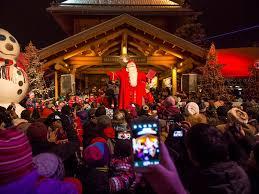 lighted santa s workshop advent calendar where does santa live the north pole isn t always the answer