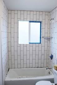 Tile Front Of Bathtub How To Tile A Shower Tub Surround Part 2 Grouting Sealing And