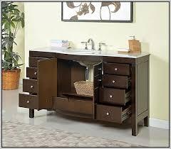 60 inch modern bathroom vanity single sink bathroom home