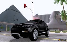 land rover mod rover range rover evoque v1 0 for gta san andreas