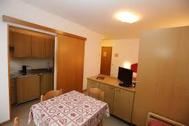 one room apartment in andalo trentino