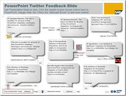integrate twitter with powerpoint using free powerpoint twitter tools