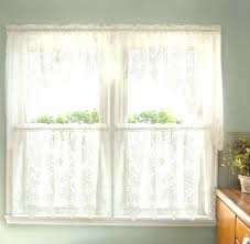 Jcpenney Lace Curtains Jcpenney Kitchen Curtains Babca Club