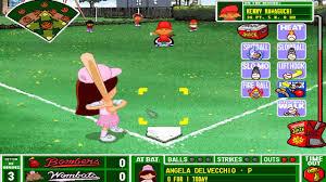 backyard baseball 1997 the worst single play ever youtube