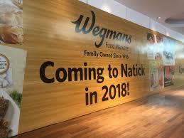 Natick Mall Map Wegmans Construction Progressing At Natick Mall News Metrowest