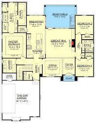 craftsman style house plan 3 beds 3 baths 1858 sq ft plan 51