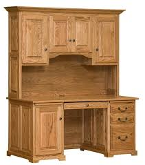 Oak Desks With Hutch Oak Only Northeastern Pa Real Wood Furniture Usa Made