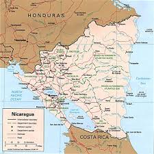 Central America Political Map by Nicaragua Map El Mundo Hispanohablante Pinterest Central America