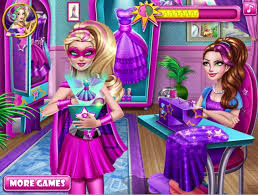 super barbie design rivals games