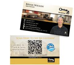 Create Qr Code For Business Card The Only Qr Code Advertising Agency Make Business Cards With A