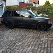 land rover matte range rover td6 l322 diesel matte black not bmw audi jaguar lexus