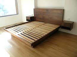 Platform King Size Bed Frame Platform King Bed Frame Brunofelixarts