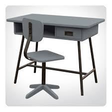 bureau enfant gris bureau enfant la classe et sa chaise d atelier laurette
