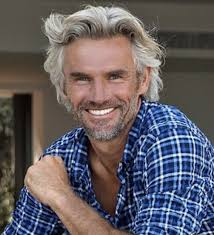 hot haircut for 50 year old men best 25 grey hair guys ideas on pinterest grey hair beard grey