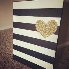 25 best heart canvas ideas on pinterest canvas crafts gold
