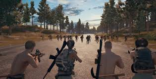 pubg pan watch 50 playerunknown s battlegrounds players shoot a guy in the