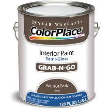 colorplace walnut bark semi gloss interior paint 1 gallon