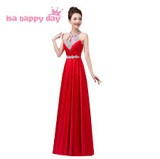 online get cheap red modest bridesmaid dresses aliexpress com